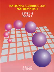 National Curriculum Maths, Level 4 Book 1 (Year 7), NZ Maths Book
