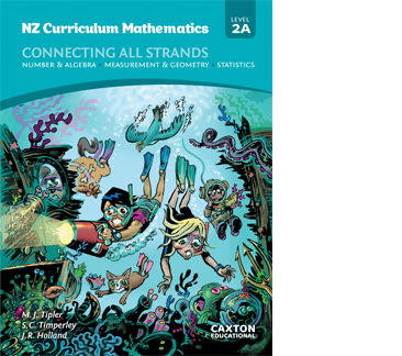 NZ Curriculum Mathematics - Connecting All Strands, Level 2A, NZ Maths Book