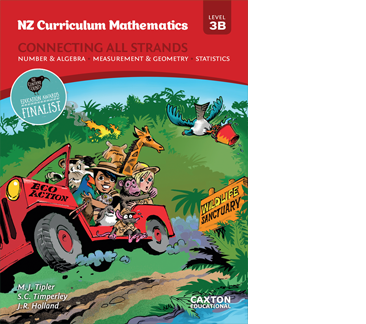 NZ Curriculum Mathematics - Connecting All Strands, Level 3B, NZ Maths Books