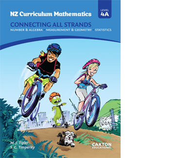 NZ Curriculum Mathematics - Connecting All Strands, Level 4A, NZ Maths Book