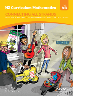 NZ Curriculum Mathematics - Connecting All Strands, Level 4B, NZ Maths Book
